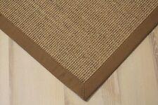 Sisal Teppich Manaus mit Bordüre jaspe 200x250 cm 100% Sisal