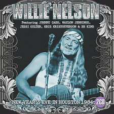 WILLIE NELSON & HIGHWAYMEN 2017 UNRELEASED 1984 NEW YEAR'S EVE LIVE CONCERT 2 CD