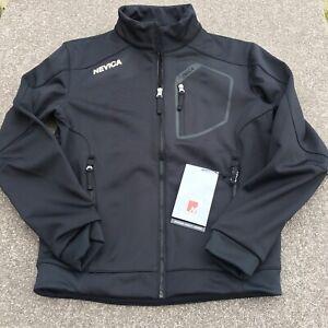 "Nevica N10 Basco Mens Small 38"" Chest Black Full Zip Ski Jacket BNWT RRP £139"