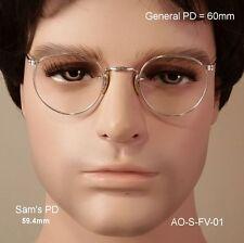 American Optical 12K Gold Fill Ful-Vue True Antique Eyeglasses & Case