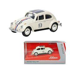 HERBIE Love Bug MAGGIOLINO TUTTO MATTO Beetle VW Scala 1/64 DieCast SCHUCO NEW