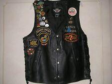 Harley Davidson ladies leather waistcoat