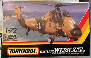 Matchbox Westland Wessex 1/72 OVP Modellbausatz