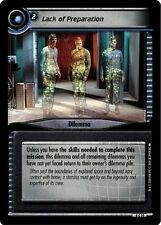 Star Trek CCG 2E Necessary Evil Lack Of Preparation 4C19