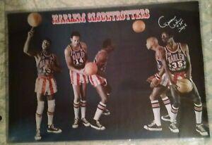 Harlem Globetrotters original poster 67-72 era. Unopened in sleeve. Meadowlark+