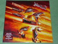 JUDAS PRIEST Firepower 2LP Orange Transparent / Black Speckled VINYL Limited