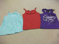 3x Girls size 6 - 7 Singlet sleeved tops - JACK & MILLY, J ZONE, - Excellent Con