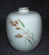 Arzberg Porzellan Vase -Gräser und Schmetterlinge-