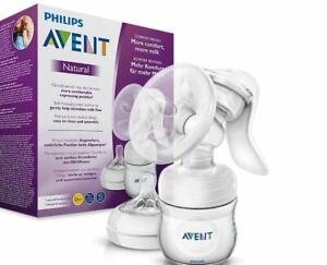 Philips Avent SCF330/20 Handmilchpumpe Milchflasche Muttermilch Stillpumpe Baby