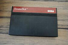 Jeu TRANSBOT pour Sega MASTER SYSTEM (CARTOUCHE SEULE)