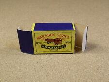 ORIGINAL BOX FOR LESNEY MATCHBOX # 20 STAKE TRUCK