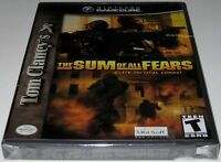 Tom Clancy's The Sum of All Fears (Nintendo GameCube) Brand NEW!