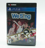 We Sing Game With 2 Microphones Bundle PS4 NEW SEALED FREE SHIPPING