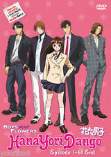 DVD Anime Boys Over Flowers Hana yori Dango TV Series 1-51 End English Version