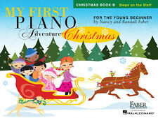 My First Piano Adventure Christmas - Book B  Piano Nancy Faber_Randall Faber Boo