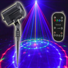 Christmas Star Laser Projector Light Outdoor Landscape Stage Rgb Firefly Lamp Wf