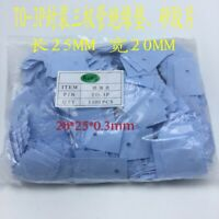 TO-3P Power Transistor MICA Insulator Polymer Material 20*25*0.3mm x 1000pcs