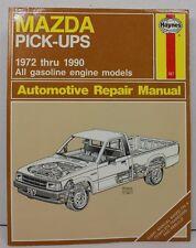 Haynes Mazda Pick-ups 1972 thru 1990 Gas Engines Automotive Repair Manual Trucks
