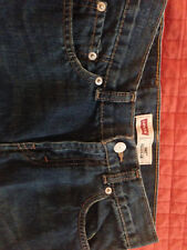 Boys Levi's 505 Blue Jean Shorts Size 10 Regular - Barely Worn