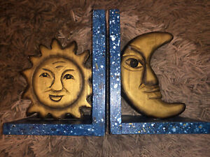 Sun And Moon Book Ends