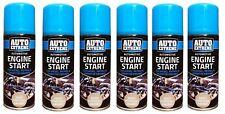 6x Engine Start 200ML Spray Car/Truck Petrol,Diesel & Peraffin Engine Easy Start