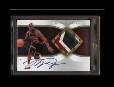 2006-07 Michael Jordan Exquisite Autograph 3CLR Patch Auto SIC!