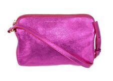 MARC BY MARC JACOBS SOPHISTICATO METALLIC PINK BOS KARLIE CROSSBODY SHOULDER NEW