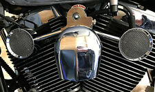 Love Jugs Mighty Mites Chrome V-Twin Engine Fans for Harley Softail & Dyna
