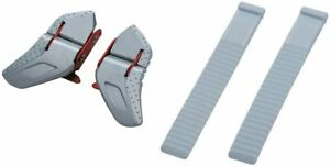 SHIMANO LOW PROFILE TYPE WHITE BUCKLE AND STRAP--ESMSHLOBWSS