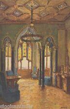 Burg Hohenzollern AK alt Salon der Kaiserin Gemälde Baden-Württemberg 1607107