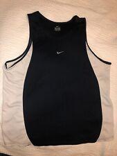 Nike Men's Vintage Dri Fit Sports Tank Top Vest Running Jogging Gym Cycling