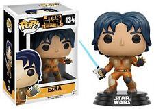 "Star Wars Rebeldes Ezra 3.75"" POP VINILO FIGURA FUNKO 134 totalmente nuevo vendedor de Reino Unido"