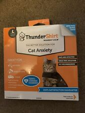 ThunderShirt Anxiety Vest for Cats, Heather Grey