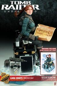 Tomb Raider (Lara Croft) Snow Day Underworld  Statue EXCLUSIVE Sideshow 25/500