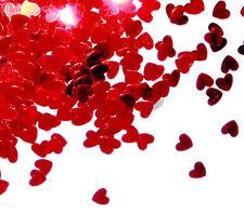 Confettis de table coeur rouge 14 gr DECORATION ST VALENTIN MARIAGE