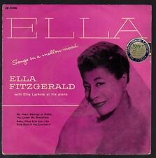 ELLA FITZGERALD DISCO 45 GIRI EP SONGS IN A MELLOW MOOD - DECCA ED 2150