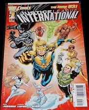 DC Comics 2011 NEW 52 JUSTICE LEAGUE INTERNATIONAL #1 NM 2nd Print Variant