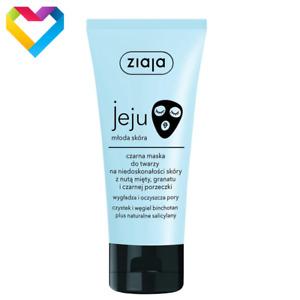 Ziaja Jeju Black Treatment For Imperfections Acne Prone Oily Skin 50ml  Z00602
