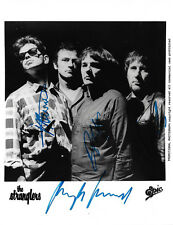 The Stranglers full signed 8x10 inch photo autographs