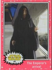 Star Wars JTTFA Neon Parallel Base Card #69 The Emperor's arrival