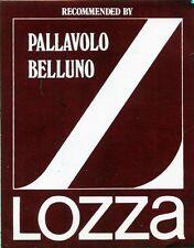 ADESIVO/STICKER * LOZZA - PALLAVOLO BELLUNO *