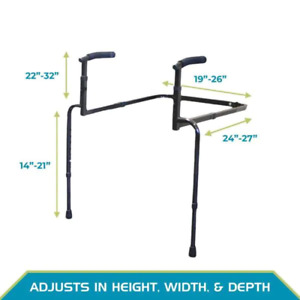 Able Life Universal Stand Assist Patient Care Dual Handles Steel