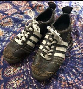 Adidas Chile 62 Retro Leather shoes 8 Black