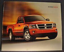 2008 Dodge Dakota Pickup Truck Brochure ST SXT Laramie Excellent Original 08