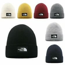 The North Face Warm Unisex Ski Wear Skull Cap Winter Wooly Beanie Hat Knitted