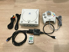 SEGA Dreamcast PAL Console With Controller Memory Card HDMI Output Kit