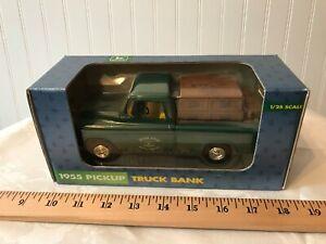 Ertl Collectable John Deere 1955 Chevrolet Bank