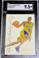 KOBE BRYANT 1996-97 FLAIR SHOWCASE RC ROOKIE CARD CLASS OF 96 CARD #4 SGC 9.5