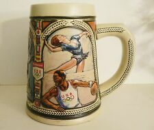 1992 Olympic Games Barcelona Anheuser-Busch Budweiser 1992 US Olympic Stein