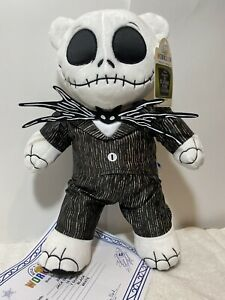 Build-A-Bear Nightmare Before Christmas Jack Skellington W/Song/Suit,NWT